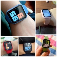 สายApplewatch ใหม่!! เคสกันรอย+สายนาฬิกา คลุมรอบหน้าจอ Applewatch (ใส่ได้เลยโดยไม่ต้องติดฟิล์มกระจก)