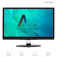 Atron Vision AVF240 24 144Hz Gaming Monitor - 1920 x 1080 1ms(GTG)  Overclockable up to 185Hz  AVQ270S. WQHD (2560X1440) 27-inch Widescreen 4ms(GTG) LED Gaming Monitor
