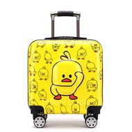 หลักรถเข็นโรงเรียนกระเป๋าเดินทางหญิงและเด็กกระเป๋าเดินทางชาย20นิ้วเด็กกระเป๋าเดินทางรูปการ์ตูน Baby Check-In กระเป๋าเดินทาง