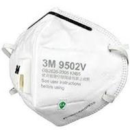 ♬ 現貨  3M 9501V耳戴式/9502V頭戴式 (N95等級,防PM2.5)透氣閥款 3M口罩