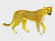【4D MASTER】26460 立體拼組模型動物系列-獵豹
