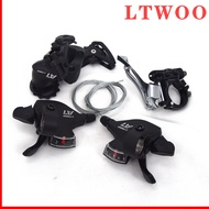 LTWOO A7  3x10 Speed Front/Rear Derailleur+Trigger Shifter lever groupset for MTB mountain bike,LTWOO Groupset