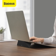 Baseus Ultra Thin Fabric Laptop Notebook Holder for Macbook Air Pro Adjustable Folding Stand for 12-17 inch Laptop Accessories