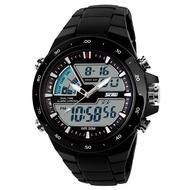 时刻美 SKMEI 1016 雙顯示 防水防震 多功能 輕量化登山運動手錶 男錶女錶對錶