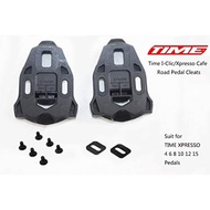 Time I-Clic Xpresso XPRO 公路車踏板鞋底板 扣片 0度 5度