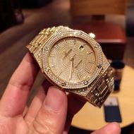 正品特價Jason-愛彼-AP愛彼皇家橡樹系列滿天星鑽錶 機械腕錶 多功能計時手錶 手工鑲嵌水鑽