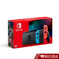 Nintendo Switch 新款主機(電力加強版)- 藍紅主機 (台灣公司貨)  現貨 蝦皮直送