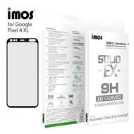 【愛瘋潮】IMOS Google Pixel 4 XL「神極3D款」點膠3D 2.5D滿版玻璃貼(黑邊) 全覆蓋美觀防塵版玻璃