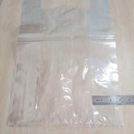 """☊◐♠50pcs PP Singlet Bag 18"""" x 22"""" / Plastic Jernih Transparent Lutsinar"""