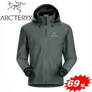 【台灣黑熊】ARC'TERYX 始祖鳥|加拿大|-Beta AR Jacket 男款 防水外套 透氣防水外套 風雨衣 GORE-TEX 12701 船灰