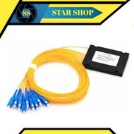 Passive Splitter 1-8 fiber optic / Passive Splitter fiber optic