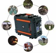 แบบพกพาพลังงานแสงอาทิตย์กระเป๋าเดินทางSolar System 18650พร้อมPower Bank Camping Kit