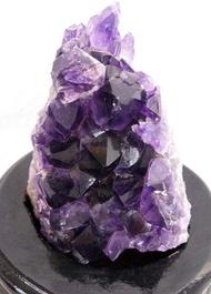 特價原色紫水晶簇紫水晶族擺件0.3千克