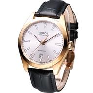 EPOS 都會典藏 時尚機械錶 (3411.131.24.18.25)皮帶款