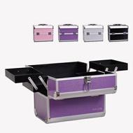 LRYX箱包 化妝箱-多隔層鋁合金美甲美妝專業工具箱4色