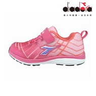 Diadora 兒童慢跑鞋 中童 超寬楦 粉 DA9AKR5793