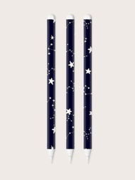 1sheet Star Pattern Apple Pencil 2nd Sticker