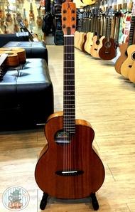 烏克時代~Anuenue鳥吉他M20E旅行吉他,全桃花心木面單板旅行吉他+拾音器