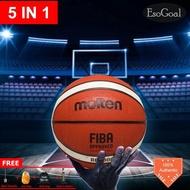EsoGoal Bola Basket Original (Karet)/Bola Basket Indoor Outdoor dan Free Jaring
