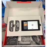 任天堂 Nintendo Switch NS 台灣公司貨 電力加強版 主機 灰色 二手 保固至11月 動物森友會 瑪利歐