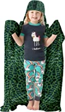 Blanket Hoodie for Kids - Large Hooded Blanket Wearable Animal Throw Unicorn Blanket for Kids - Throw Blankets with Hood - Hoodie Blankets for Kids - Throw Blankets with Hood (Dinosaur Blanket)