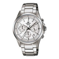 Casio Edifice นาฬิกาข้อมือชาย รุ่น EFR-527D-7A - Silver/White