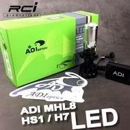 ADI 三代 LED 魚眼 切線完美 HS1 H7 規格 適用 JET FORCE 雷霆S OZS MANY12