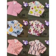 Pajamas❏PAJAMA SLEEPWEAR sleepwear terno pajama sleepwear pajama set for women's /cotton