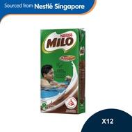 MILO UHT Chocolate Malt Packet Drink 1litre - Carton