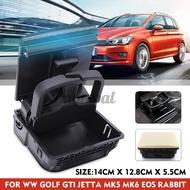 Central Armrest Rear Cup Holder For VW Jetta MK5 Golf GTI MK5 MK6 EOS