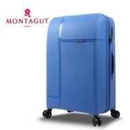 【  MONTAGUT 夢特嬌  】24吋專利雙層防盜拉鍊靜音飛機輪行李箱