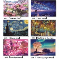 ❉♟♘[Ready stock]puzzle 1000 pcs puzzles jigsaw puzzle adult decompression puzzle creative gift super difficult small puz