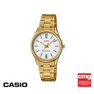 [ของแท้] CASIO นาฬิกาข้อมือผู้ชาย ระบบอะนาล็อค รุ่น MTP-V005G-7BUDF นาฬิกา นาฬิกาข้อมือ นาฬิกากันน้ำ สายสแตนเลส