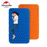 Naturehike double sleeping pad camping mat 2 person Inflatable inflating tent bed with air bag