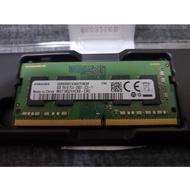 三星 Samsung DDR4 2400 4G 4GB 筆電記憶體 (全新未過電筆電換下)