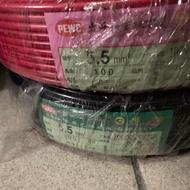 太平洋電線PVC5.5mm 絞線!