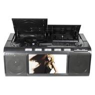 Panda CD-5000 เครื่องบันทึกเทปคาสเซ็ตเครื่องเครื่องเล่นซีดีการเรียนรู้ภาษาอังกฤษ DVD bread Repeater Radio