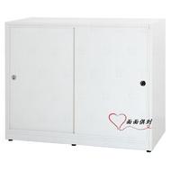 [面面俱到]塑鋼4.1尺防水拉門衣櫥/推門衣櫃(4色)寬124深61高103.5cm