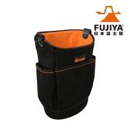 【Fujiya 富士箭】尼龍腰間工具收納袋-輕巧型(工具收納袋)