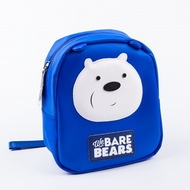 Miniso Name Excellence Products we bare Hungbai child backpack brown bear Kindergarten