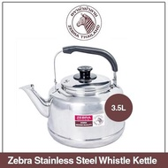 Zebra Stainless Steel Classic Whistle Kettle 3.5L