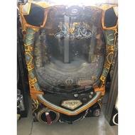 柯先生日本原裝機台2013小鋼珠CR牙狼 GARO FINAL 插電即玩柏青哥漫畫迷收藏PUB工作室布置.民宿裝置遊戲區