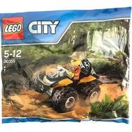 樂高 30355 城市系列 越野車 人偶 台北市可面交 汽車 積木 LEGO city polybag