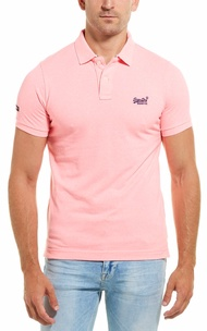 Superdry Mens  Classic New Fit Pique Polo