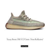 • DS. • ® Yeezy Boost 350 V2 'Citrin Non-reflective' 天鵝白天使