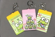 Keroppi Frog Ezlink Cartoon Card Holder Keychain