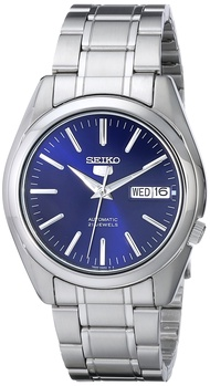 "Men's SNKL43 ""Seiko 5"" Stainless Steel Automatic Watch"
