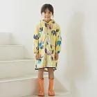 日本WPC 頑皮象M 空氣感兒童雨衣/防水外套 附收納袋(95-120cm)