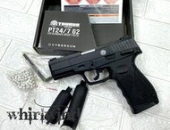 PT24/7 G2 金牛座 CYBERGUN TAURUS 6MM 手槍 CO2槍(鎮暴槍、漆彈槍、手榴彈、辣椒彈)