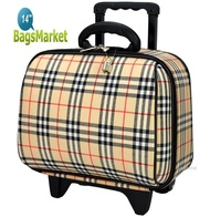BagsMarket Luggage Wheal กระเป๋าเดินทางล้อลาก 14 นิ้ว BB-Scott Cream